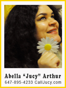 "Abella ""Jucy"" Arthur, CPTR Psychic Life Coach"